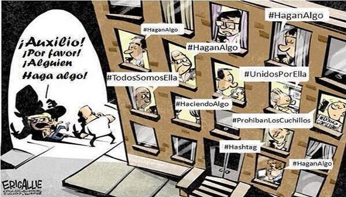 El problema de Facebook, Twitter, Change, etc.