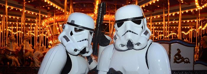 Soldados imperiales de Star Wars