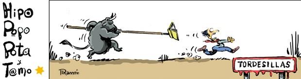 Viñeta sobre toros (Tordesillas)