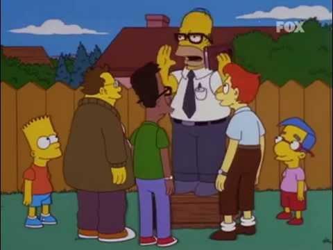 Los Simpson - gamers (ochenta; noventa)