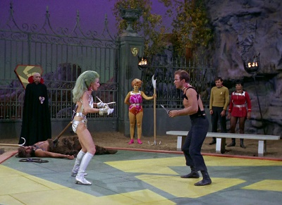 "Star Trek (episodio ""The Gamesters of Triskelion)"